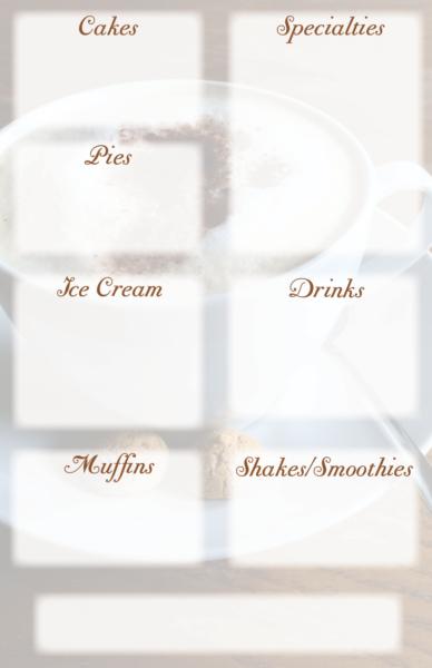 Dessert Menu-back